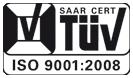 ISO 9001 zertifiziert durch den TÜV